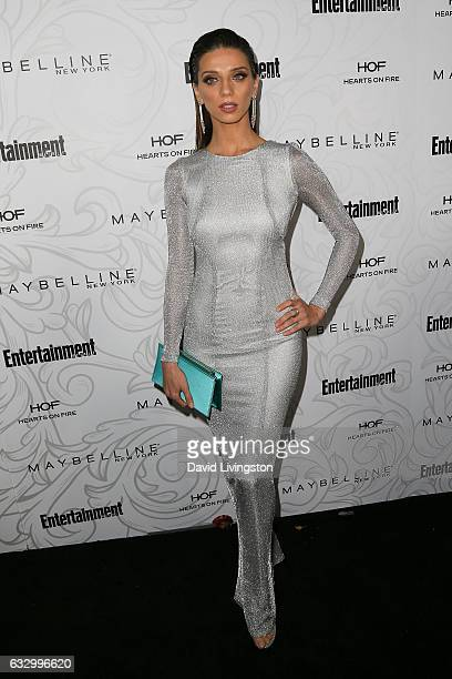 Actress Angela Sarafyan arrives at the Entertainment Weekly celebration honoring nominees for The Screen Actors Guild Awards at the Chateau Marmont...