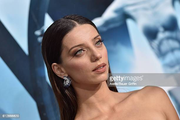 Actress Angela Sarafyan arrives at the premiere of HBO's 'Westworld' at TCL Chinese Theatre on September 28 2016 in Hollywood California