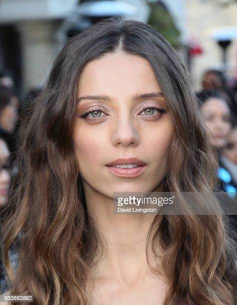Actress Angela Sarafyan attends Rebecca Minkkoff's 'See Now Buy Now' fashion show at The Grove on February 4 2017 in Los Angeles California