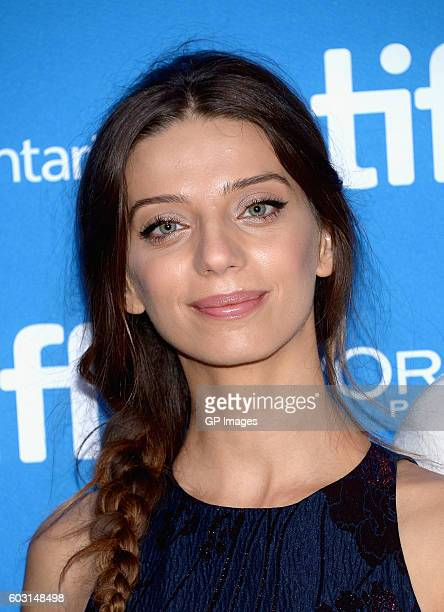 Actress Angela Sarafyan attends 'The Promise' press conference during 2016 Toronto International Film Festival at TIFF Bell Lightbox on September 12...