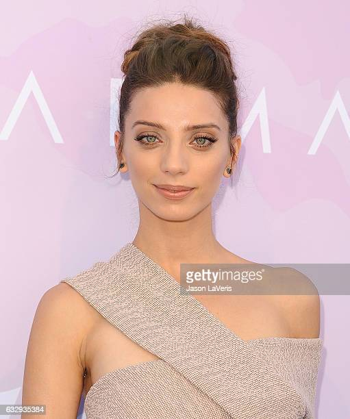 Actress Angela Sarafyan attends Variety's celebratory brunch event for awards nominees benefitting Motion Picture Television Fund at Cecconi's on...