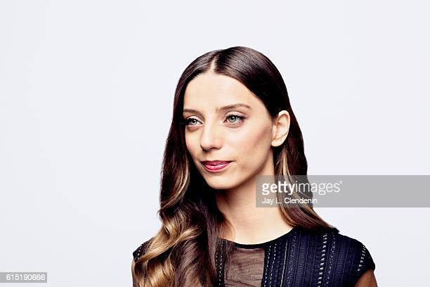 Actress Angela Sarafyan from the film 'The Promise' poses for a portraits at the Toronto International Film Festival for Los Angeles Times on...