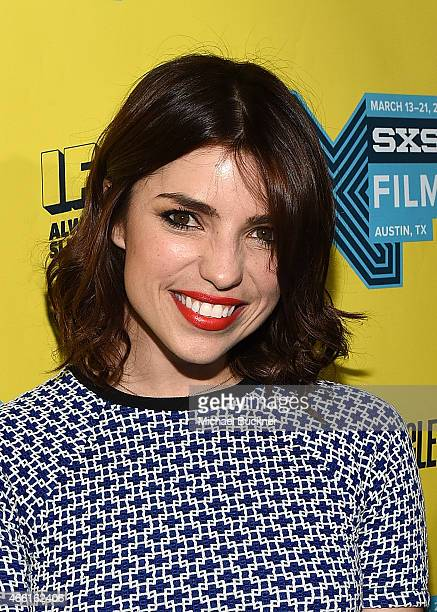 Actress Angela Trimbur attends the premiere of The Final Girls during the 2015 SXSW Music Film Interactive Festival at The Paramount Theater on March...