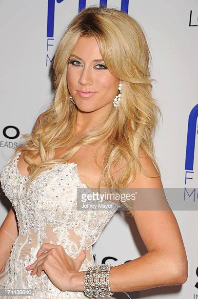 Actress Angela Zatopek attends the Friend Movement AntiBullying Benefit Concert at the El Rey Theatre on July 1 2013 in Los Angeles California