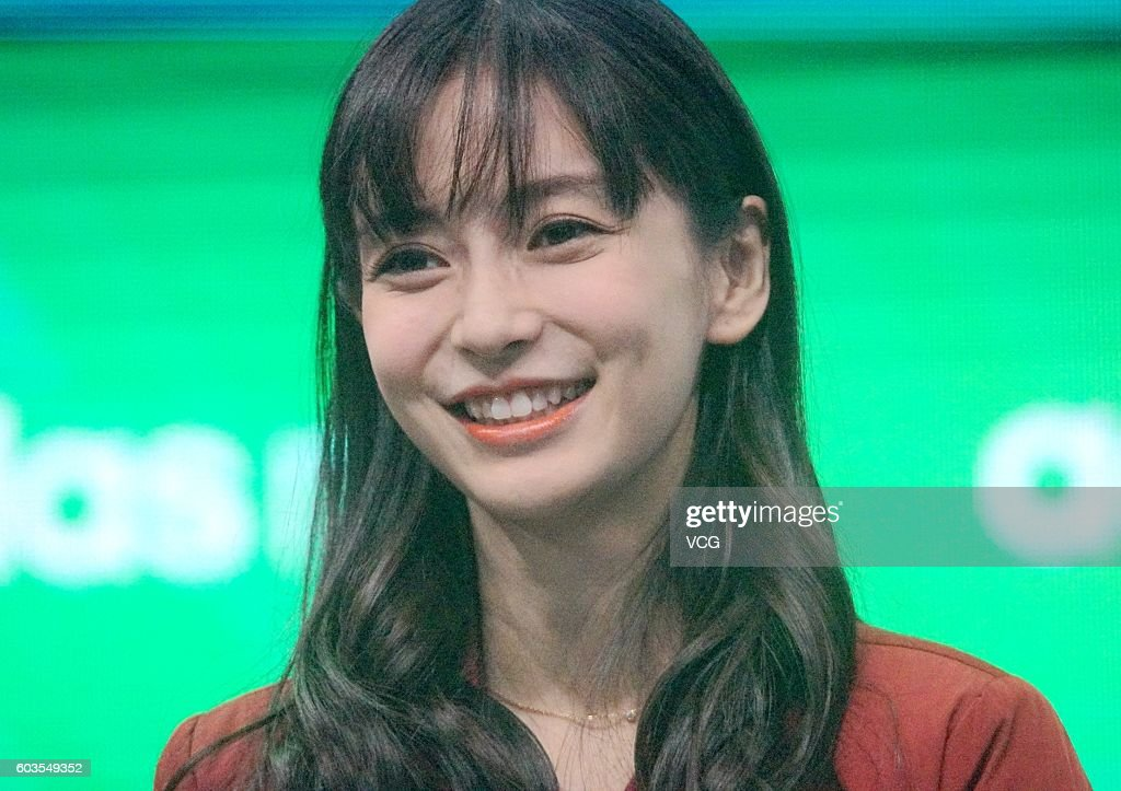 Angelababy Attends Commercial Event In Shanghai
