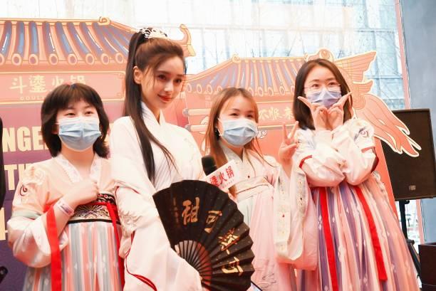 CHN: Angelababy Celebrates Birthday In Chengdu