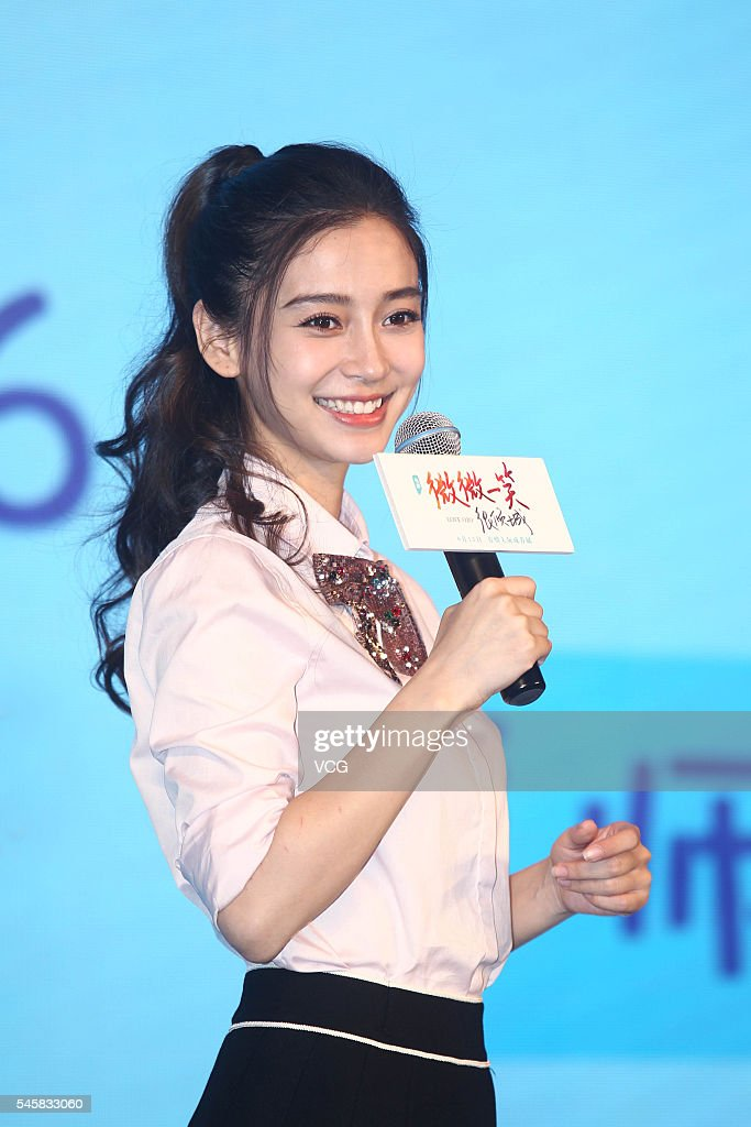 Actress Elaine Kong attends the press conference of
