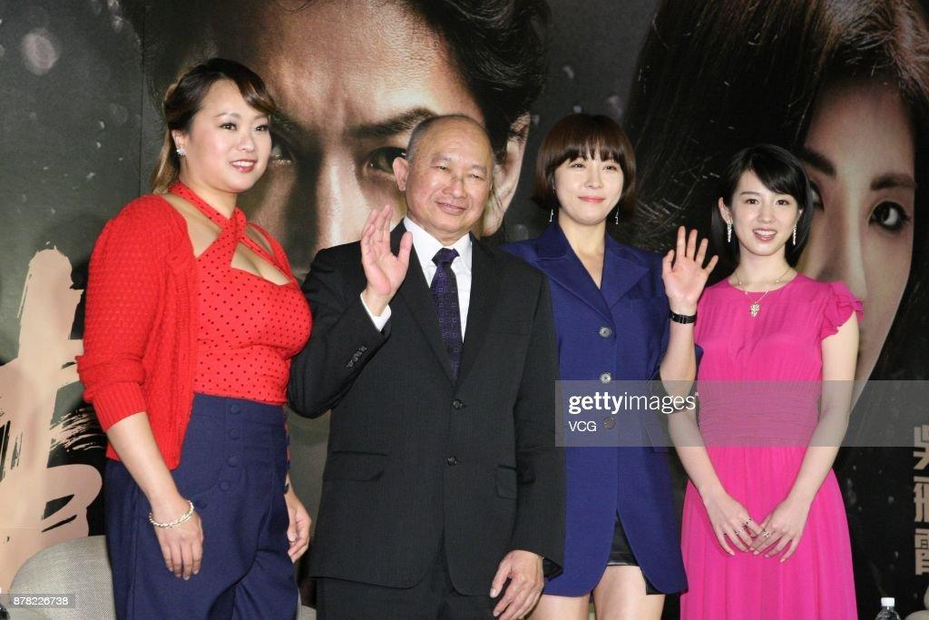 Actress Angeles Woo, director John Woo, South Korean actress Ha Ji-won and baaa6049a3d