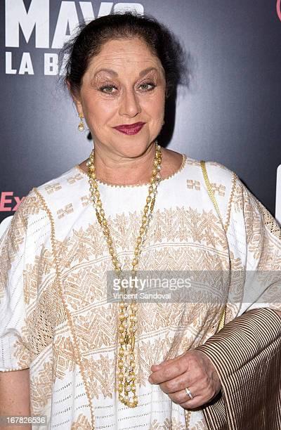 Actress Angelica Aragon attends the Los Angeles special screening of Cinco De Mayo LA Batalla at Regal Cinemas LA Live on April 30 2013 in Los...