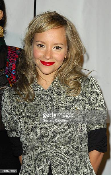 Actress Angelica Blandon attends the premiere of Paraiso Travel during the 2008 Tribeca Film Festival on April 26 2008 in New York City