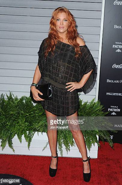 Actress Angelica Bridges arrives at the MAXIM Hot 100 Celebration Event at Pacific Design Center on June 10 2014 in West Hollywood California