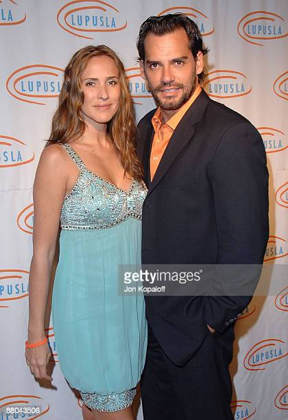 Actress Angelica Castro and husband actor Cristian De La Fuente arrive at the 9th Annual Lupus LA Orange Ball at the Beverly Wilshire Four Seasons...