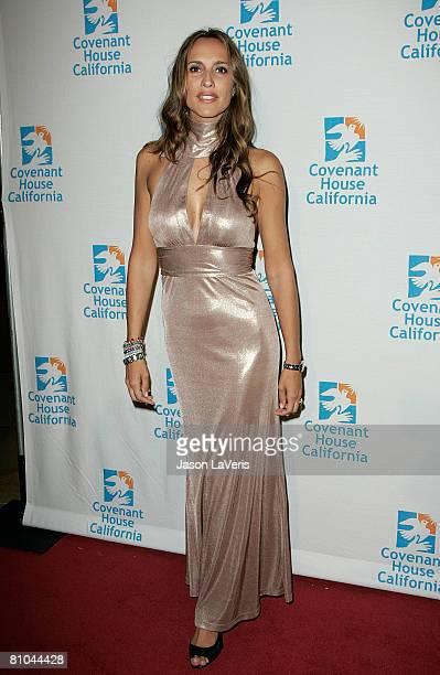 Actress Angelica Castro attends Covenant House California's 9th Annual Awards Gala at the Beverly Hilton on May 9 In Beverly Hills California
