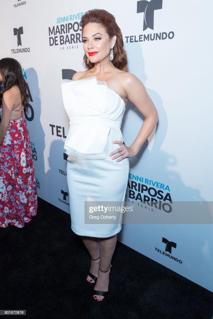 "Screening Of Telemundo's ""Jenni Rivera: Mariposa De Barrio"" - Arrivals"