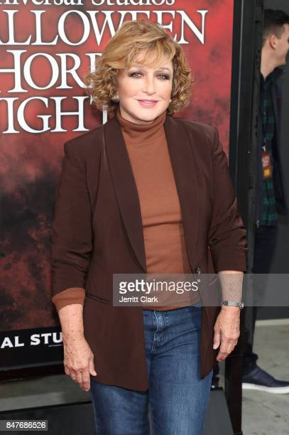 Actress Angelica Maria arrives at Universal Studios Halloween Horror Nights Opening Night at Universal Studios Hollywood on September 15 2017 in...