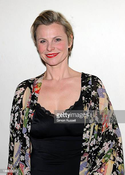 Actress Angelica Page attends the 'Psycho Therapy' OffBroadway cast photo call at the Shelter Theater on January 9 2012 in New York City