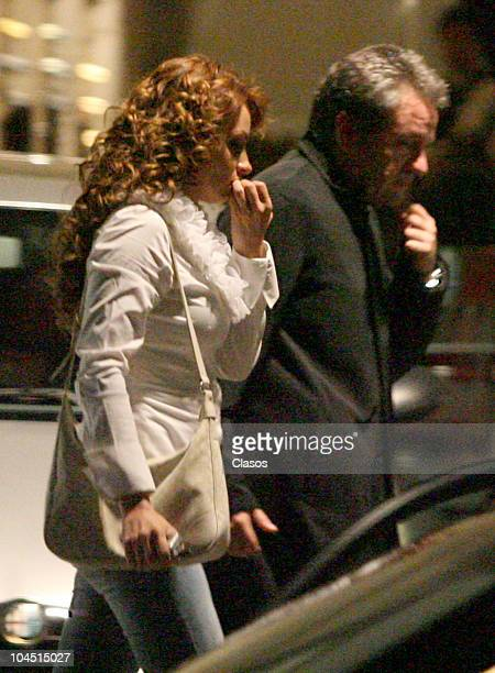 Actress Angelica Rivera reconciles with her husband Jose Alberto El Guero Castro on May 31 2007 in Mexico City Mexico She is getting married on...