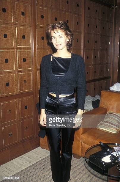 Actress Angelica Torn attending the publication party for Doug Richardson's 'Dark Horse' on January 28 1997 at Club Macanudo in New York City New York