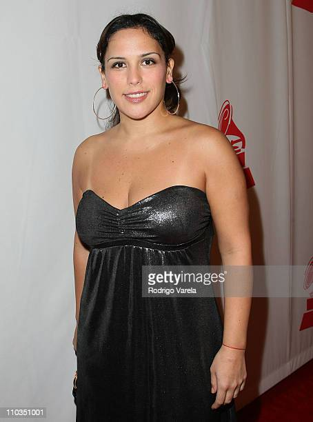 Actress Angelica Vale arrives to the 8th Annual Latin GRAMMY Awards Person of the Year celebration at Mandalay Bay on November 7 2007 in Las Vegas...