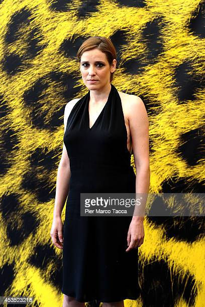 Actress Angeliki Papoulia attends the 'A Blast' Photocall during the 67th Locarno Film Festival on August 12 2014 in Locarno Switzerland