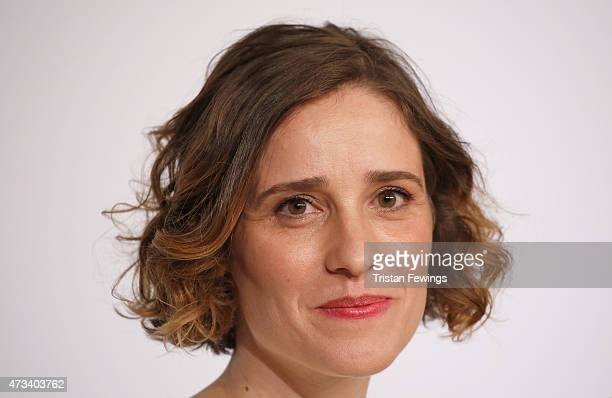 Actress Angeliki Papoulia attends the 'The Lobster' press Conference during the 68th annual Cannes Film Festival on May 15 2015 in Cannes France