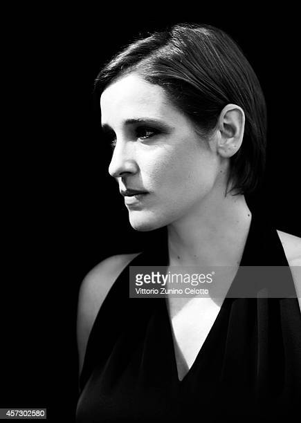 Actress Angeliki Papoulia is photographed for Self Assignment on August 11 2014 in Locarno Switzerland