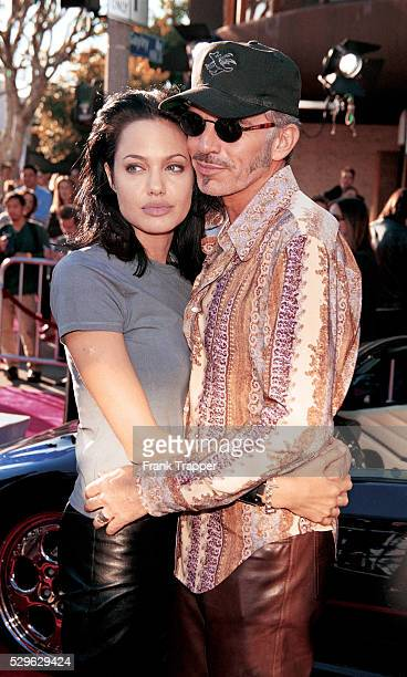 Actress Angelina Jolie and actor Billy Bob Thornton arrive at the premiere of 'Gone In 60 Seconds' This photo appears on page 254 in Frank Trapper's...