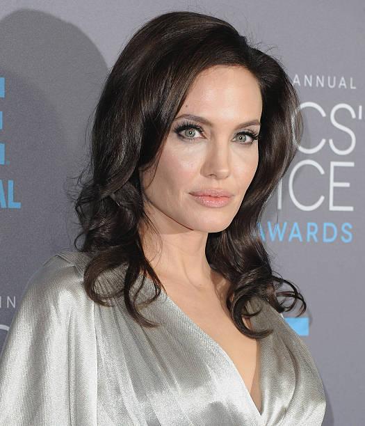 Actress Angelina Jolie arrives at the 20th Annual Critics' Choice Movie Awards at Hollywood Palladium