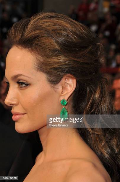 Actress Angelina Jolie arrives at the 81st Annual Academy Awards held at The Kodak Theatre on February 22 2009 in Hollywood California