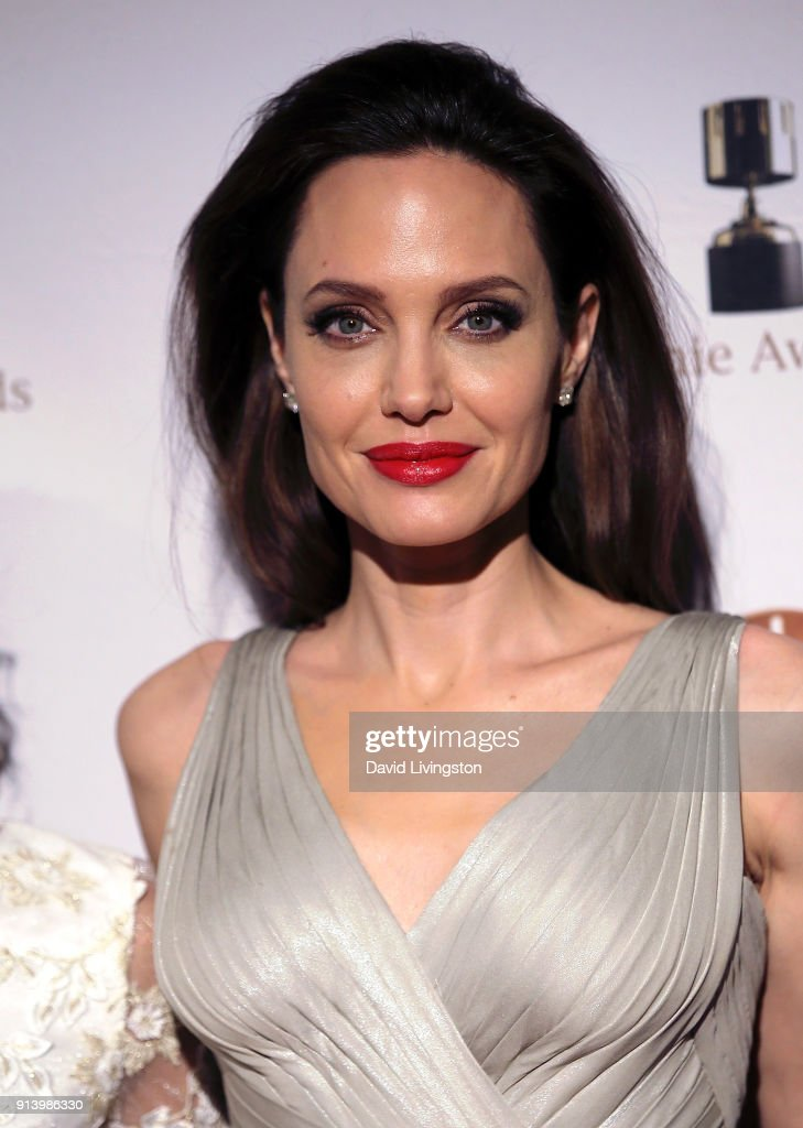 Actress Angelina Jolie attends the 45th Annual Annie Awards at Royce Hall on February 3, 2018 in Los Angeles, California.