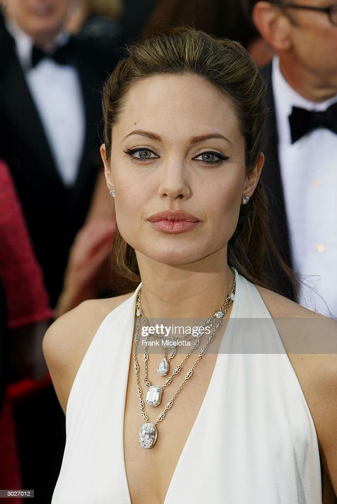 Actress Angelina Jolie Attends The 76th Annual Academy
