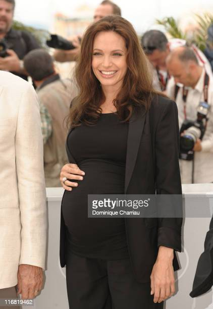 Actress Angelina Jolie attends the 'Changeling' photocall at the Palais des Festivals during the 61st Cannes International Film Festival on May 20...
