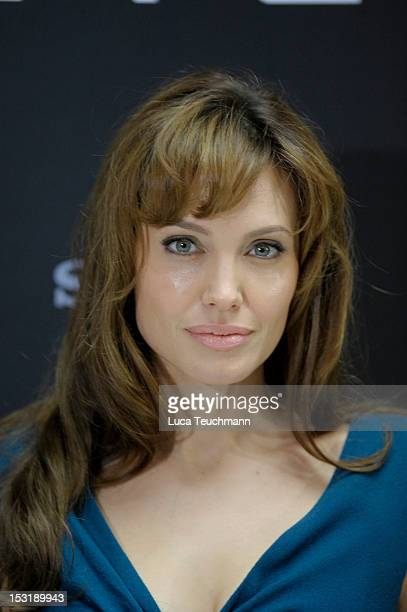 Actress Angelina Jolie attends the German Photocall of 'Salt' at Hotel Adlon on August 18 2010 in Berlin Germany