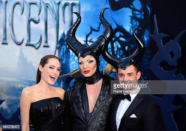 """Actress Angelina Jolie attends the World Premiere of Disney's """"Maleficent"""" at the El Capitan Theatre on May 28, 2014 in Hollywood, California."""