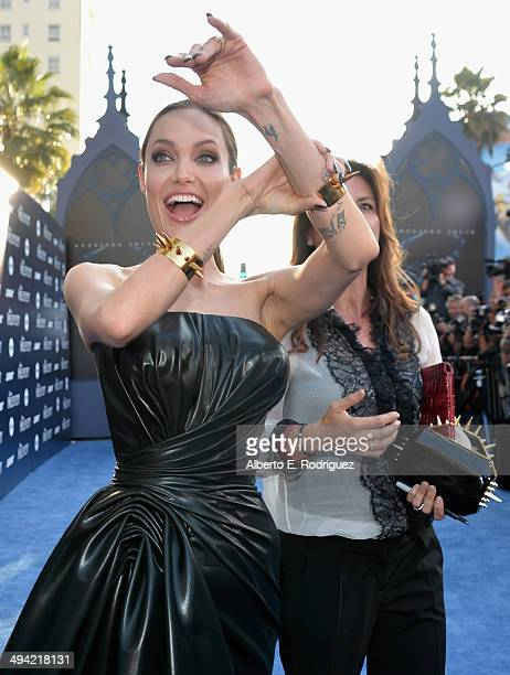Actress Angelina Jolie attends the World Premiere of Disney's 'Maleficent' starring Angelina Jolie at the El Capitan Theatre on May 28 2014 in...
