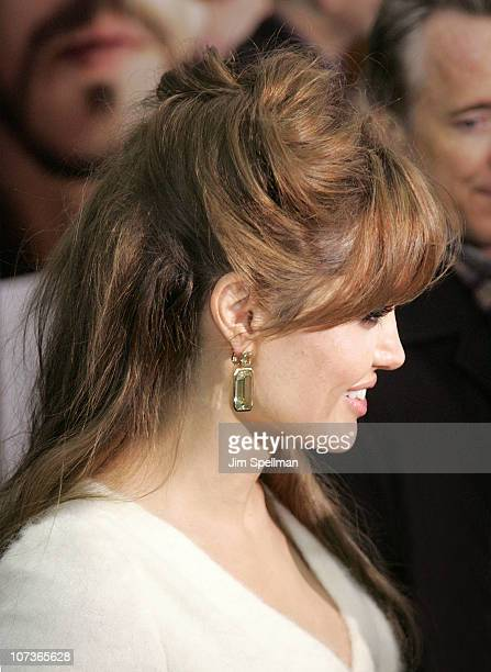 Actress Angelina Jolie attends the world premiere of 'The Tourist' at the Ziegfeld Theatre on December 6 2010 in New York City