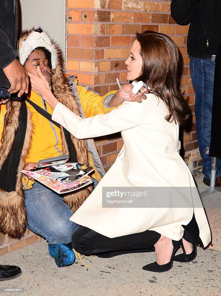 Celebrity Sightings In New York City - December 04, 2014 : News Photo