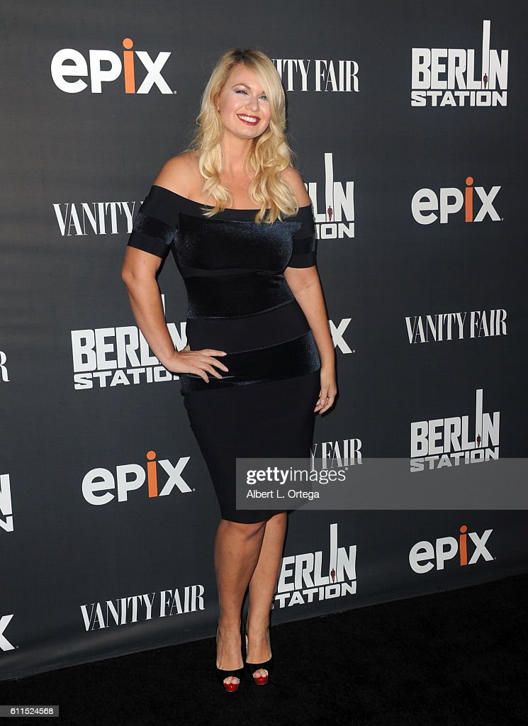 Actress Angeline Rose Troy arrives for the Premiere Of EPIX's 'Berlin Station' held at Milk Studios on September 29, 2016 in Hollywood, California.