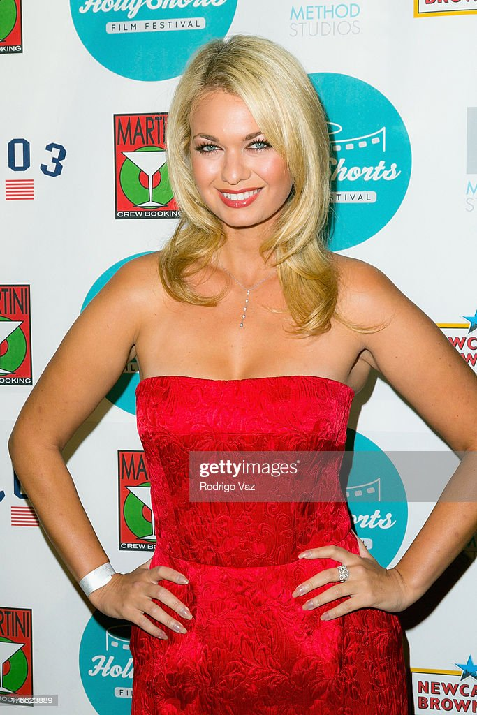 Actress Angeline Rose Troy attends the 9th Annual HollyShorts Film Festival Opening Night Arrivals at TCL Chinese Theatre on August 15, 2013 in Hollywood, California.