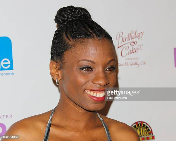 Actress Angelique Bates attends the Los Angeles premiere of Lap Dance at ArcLight Cinemas on December 8 2014 in Hollywood California