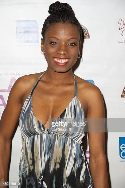 Actress Angelique Bates attends the Los Angeles Premiere of the film Lap Dance at ArcLight Cinemas on December 8 2014 in Hollywood California