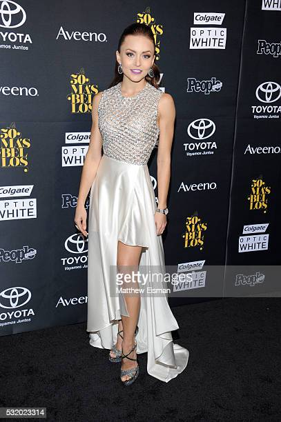"""Actress Angelique Boyer attends People En Espanol's """"50 Most Beautiful"""" at Espace on May 17, 2016 in New York City."""