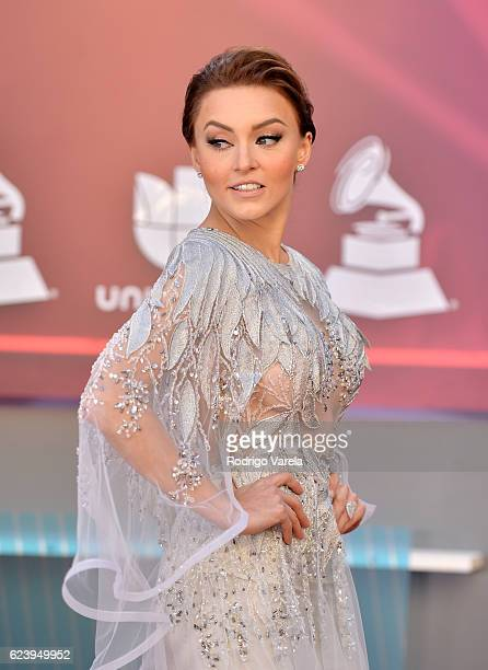 Actress Angelique Boyer attends The 17th Annual Latin Grammy Awards at T-Mobile Arena on November 17, 2016 in Las Vegas, Nevada.