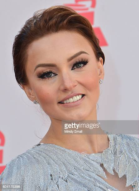 Actress Angelique Boyer attends the 17th Annual Latin Grammy Awards at TMobile Arena on November 17 2016 in Las Vegas Nevada