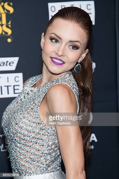Actress Angelique Boyer attends the People En Espanol '50 Most Beautiful' at Espace on May 17 2016 in New York City
