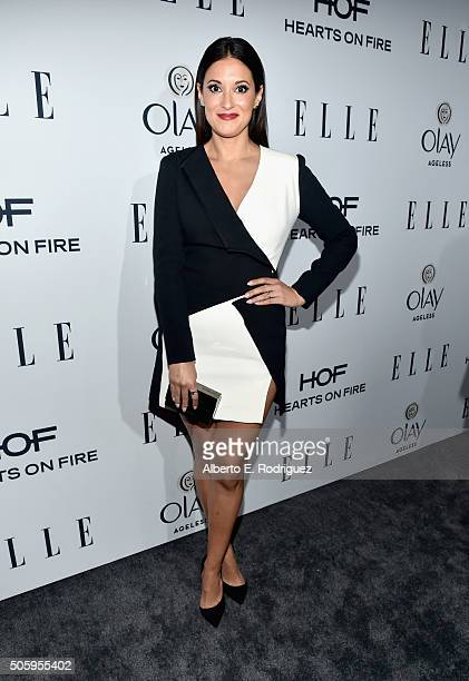 Actress Angelique Cabral attends ELLE's 6th Annual Women In Television Dinner at Sunset Tower Hotel on January 20 2016 in West Hollywood California