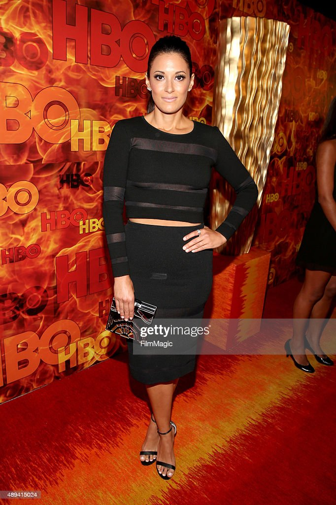 Actress Angelique Cabral attends HBO's Official 2015 Emmy After Party at The Plaza at the Pacific Design Center on September 20, 2015 in Los Angeles, California.