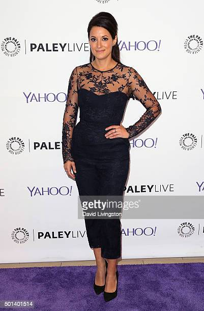 """Actress Angelique Cabral attends PaleyLive LA: An Evening with """"Life in Pieces"""" at The Paley Center for Media on December 14, 2015 in Beverly Hills,..."""