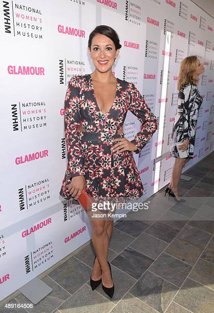 Actress Angelique Cabral attends the 4th Annual Women Making History Brunch presented by the National Women's History Museum and Glamour Magazine at...
