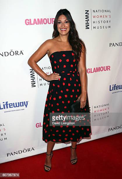Actress Angelique Cabral attends the 5th Annual Women Making History Brunch at Montage Beverly Hills on September 17 2016 in Beverly Hills California